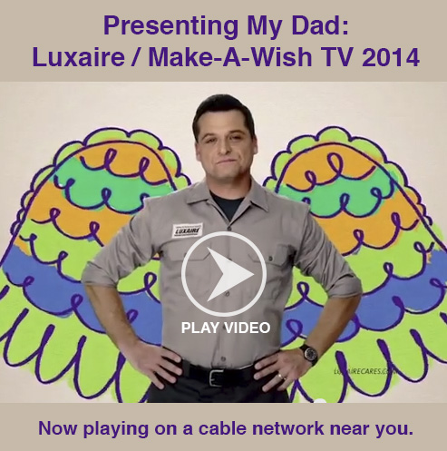 luxaire-my-dad-video