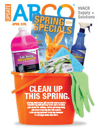 CLEAN UP THIS SPRING.