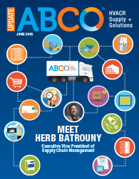 HERB BATROUNY JOINS ABCO AS EXECUTIVE VICE PRESIDENT OF SUPPLY CHAIN MANAGEMENT