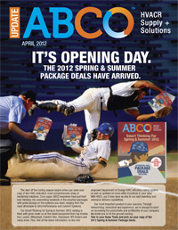 IT'S OPENING DAY. THE 2012 SPRING & SUMMER PACKAGE DEALS HAVE ARRIVED.