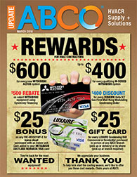 Rewards for HVAC Contractors
