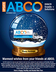 Warmest wishes from your friends at ABCO