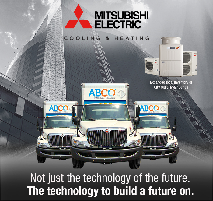 ABCO is Mitsubishi Electric's Leading Independent Distributor in North America