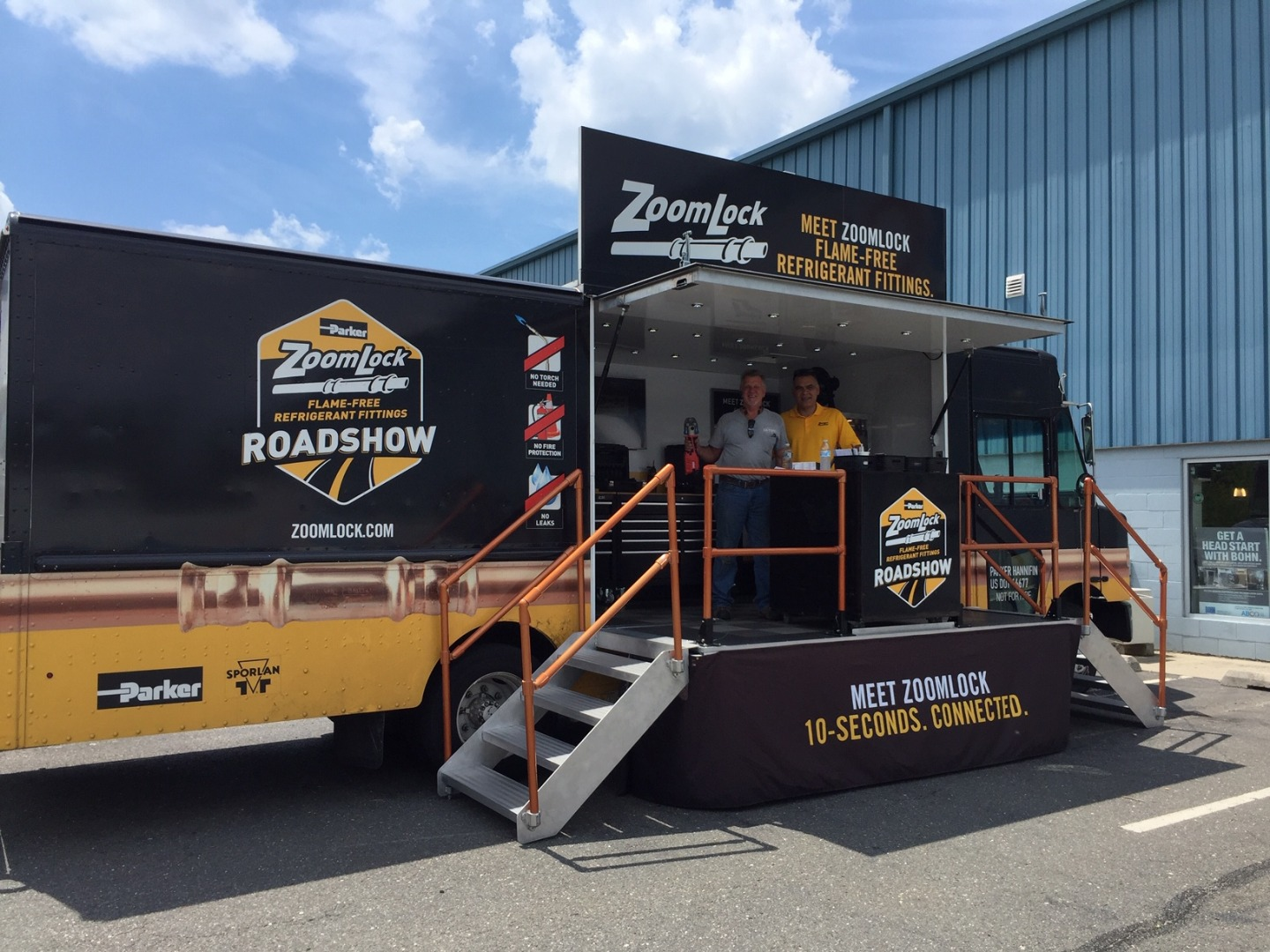 The ZoomLock Roadshow Must Go On