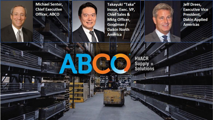 ABCO + Daikin = Global Solutions Locally Delivered